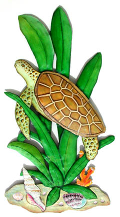 metal turtle wall decor.htm turtle wall decor in hand painted metal stained glass turtle  turtle wall decor in hand painted metal